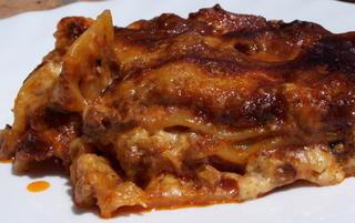 Sunday lunch lasagna
