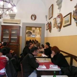 Edible Florence- Trattoria Sergio Gozzi