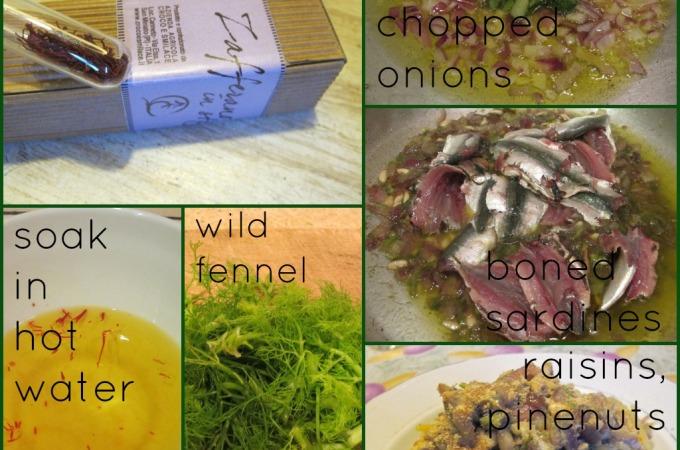 Culinary Notes- Pasta con le sarde