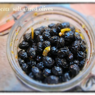 Preserving Tuscany- Salt Cured Olives