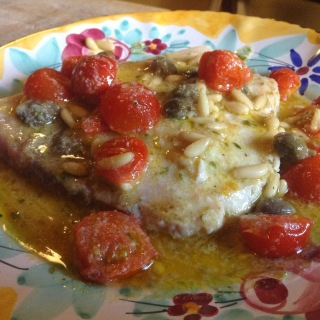 Simply Divina- Sicilian Swordfish