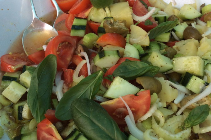 Summer Salads  from Sicily