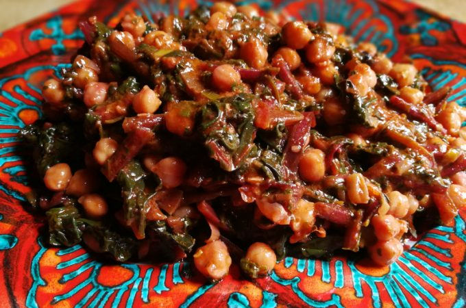 Market Day Menu: Chickpeas and Beets
