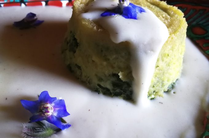 Dining with the Diva | Spinach and Ricotta Flan