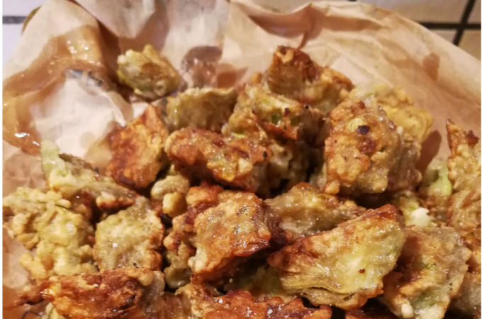 Tuscan Fried Baby Artichokes | Carciofi Fritti