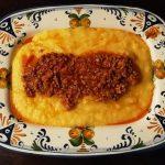 polenta with ragu