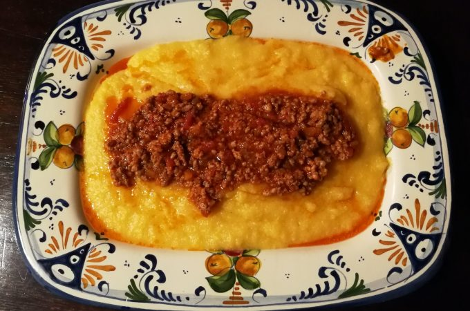 Celebrating Fall| Non-stir Polenta